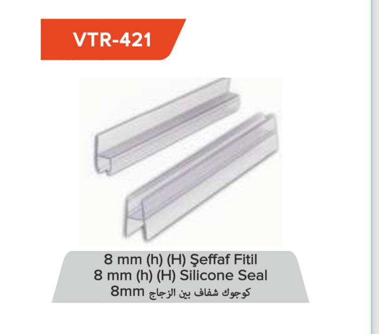 8 mm Şeffaf Fitil